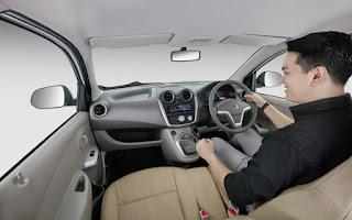 Interior Datsun GO edisi Lebaran