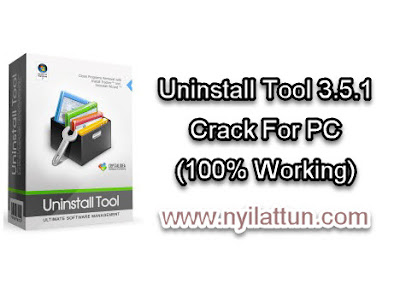 Uninstall Tool 3.5.1+6.9 Mb Crack For PC (100% Working)