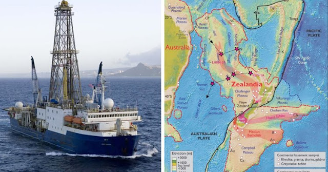 Earth's mysterious 'lost' continent – Zealandia, Scientists expedition