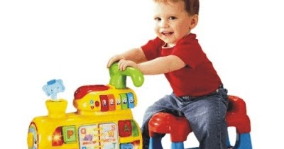 Vtech 4 In 1 Baby Walker Push And Ride Alphabet Train