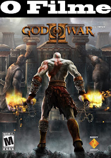capa God Of War 2 O Filme Dublado Em Português Do Brasil HD