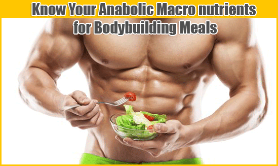 Macro nutrients for Bodybuilding Meals