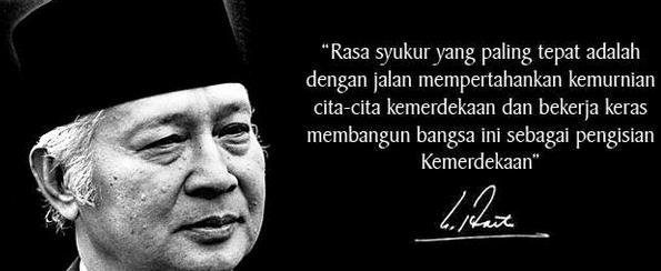 Kata Kata Motivasi Hidup Presiden Kedua Republik Indonesia Soeharto
