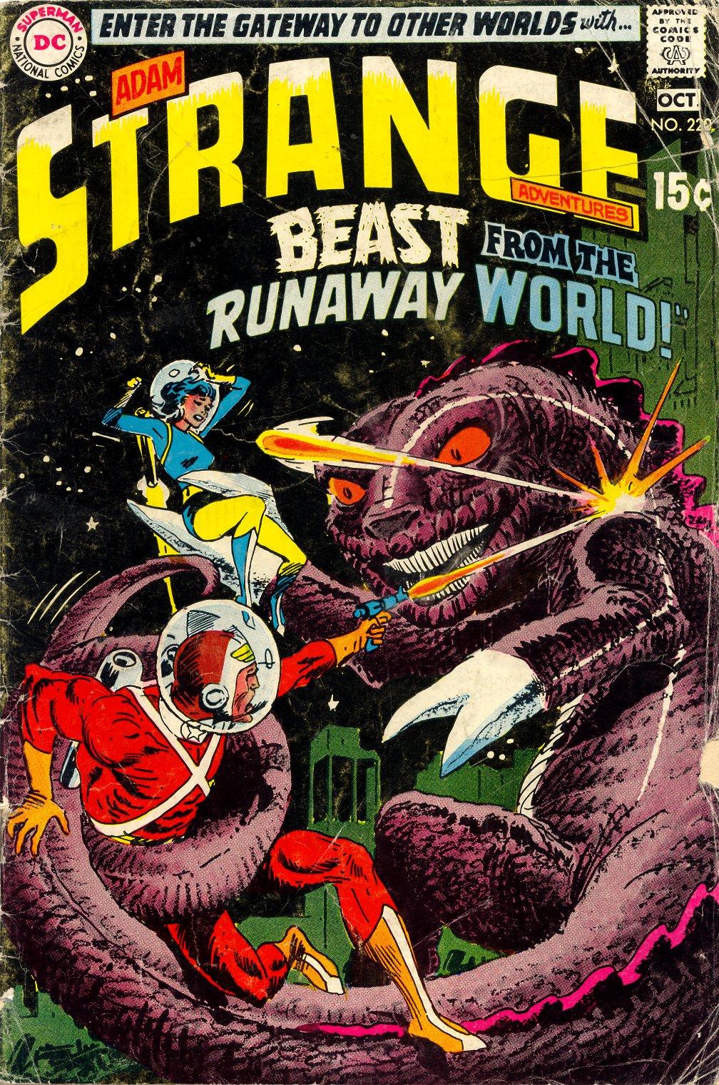 Strange Adventures (1950) 220 Page 1