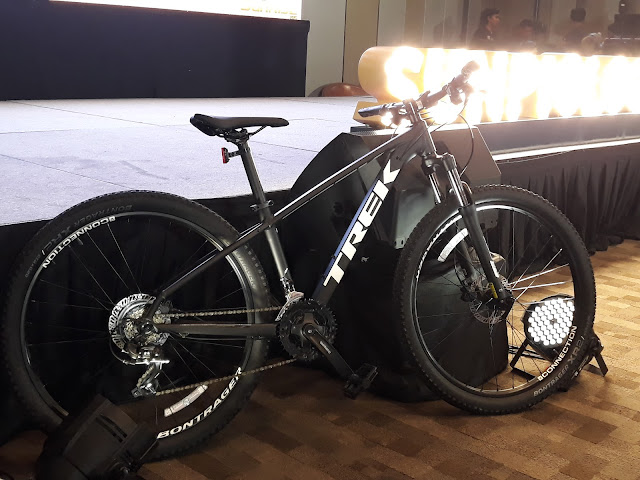 www.sunlife.cycleph.com.  Here is the TREK bike to be won in the raffle.