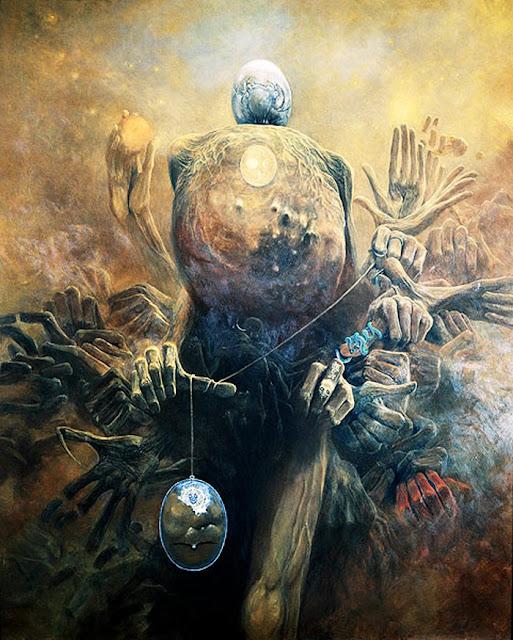 Surrealismo, Arte, Lisergia, Zdzislaw Beksinski
