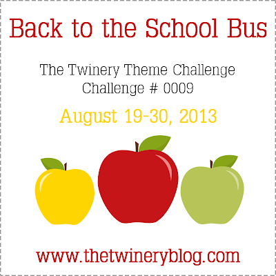 Back to the School Bus Challenge #0009 for www.thetwineryblog.com