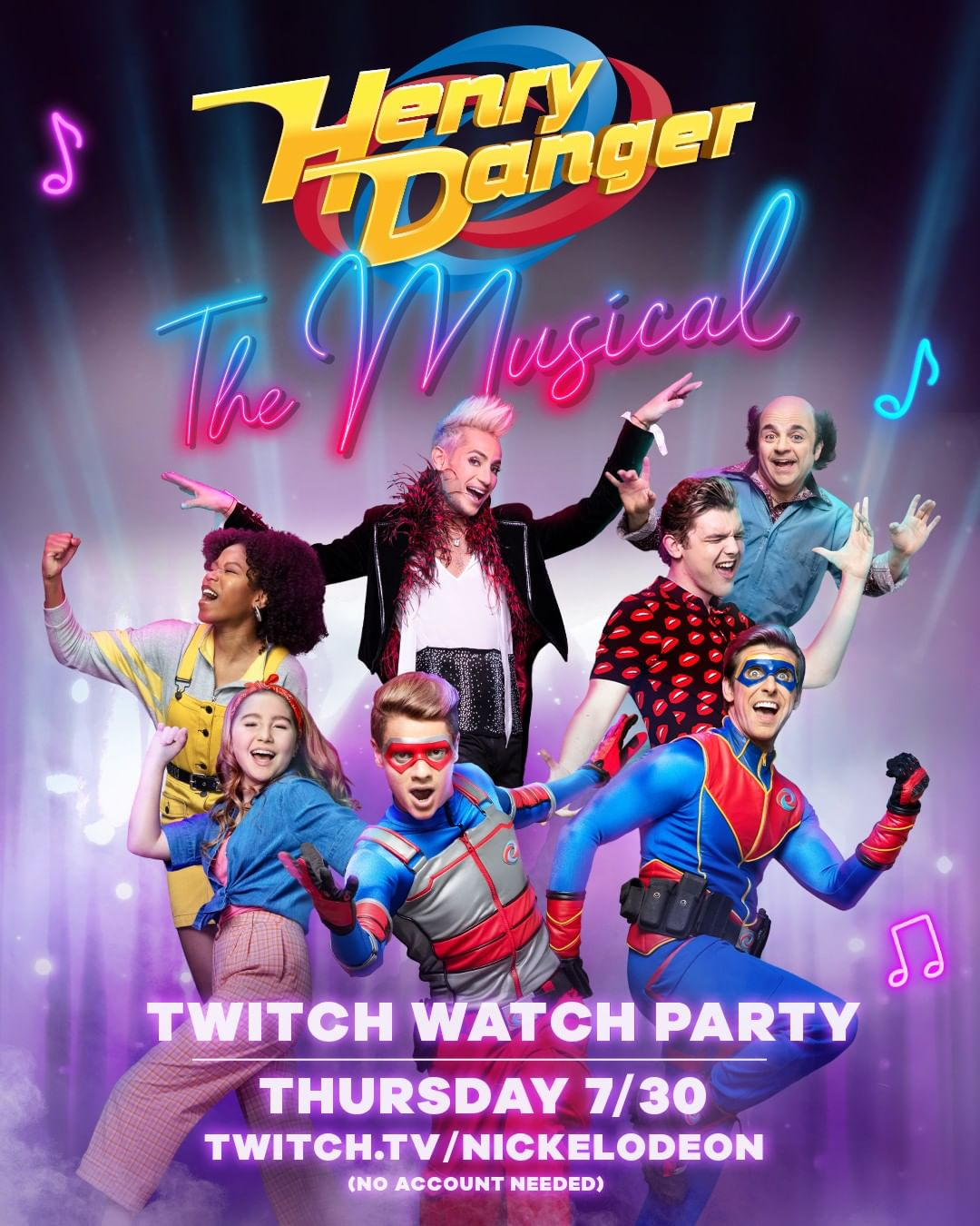 How Many Seasons Are In Henry Danger : seasons, henry, danger, NickALive!:, Nickelodeon, 'Henry, Danger:, Musical', Twitch, Watch, Party, Thursday,