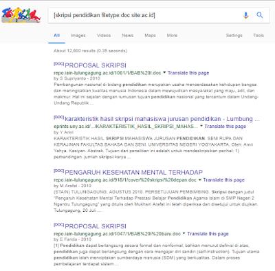 Cara Googling untuk Pelajar dan Mahasiswa