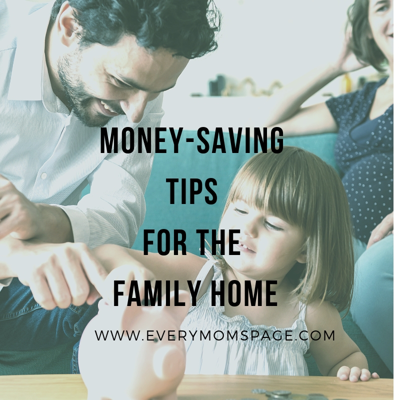 Money-Saving Tips for the Family Home