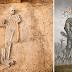 Arqueólogos desenterram guerreiro gigante em sitio arqueologico
