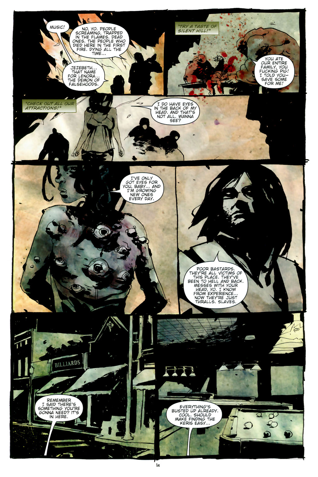 Read online Silent Hill: Dead/Alive comic -  Issue #3 - 16
