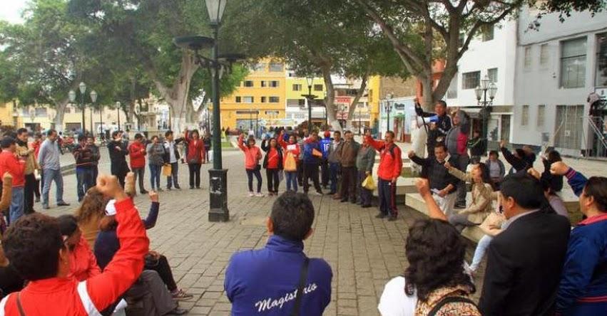 Bajo porcentaje de docentes continúan huelga en La Libertad y Cajamarca