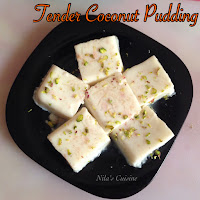 Tender Coconut Pudding / elaneer pudding