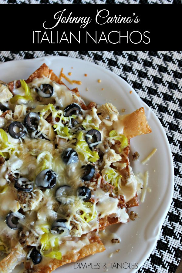 Italian food recipe, Johnny Carino's Italian Nachos