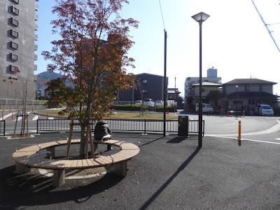 JR津田駅・東側のロータリー