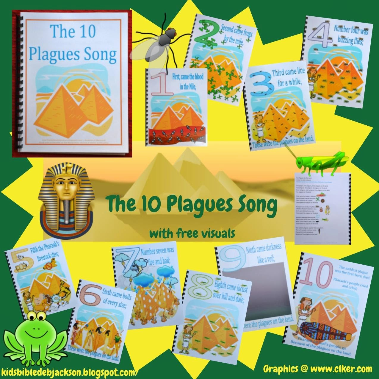 Bible Fun For Kids 2 3 Moses Amp The 10 Plagues