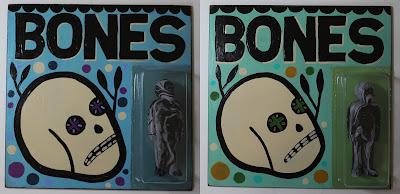 Bones Black Marble Edition Resin Figure & Painting Set by Mike Egan x Killer Bootlegs