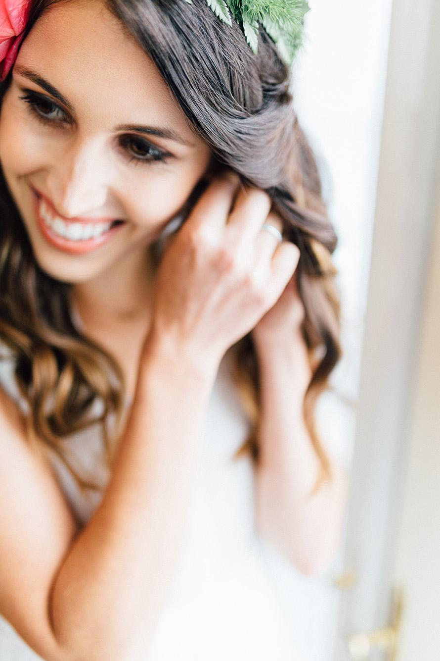 Getting Ready Bridal Photography by Tacoma Wedding Photographer Something Minted