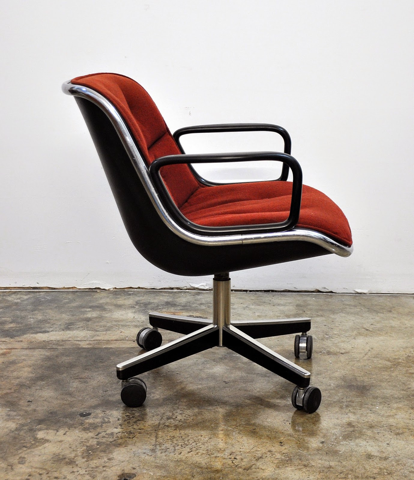 Knoll Pollock Chair Chicco High Parts Replacement Select Modern Charles For Executive