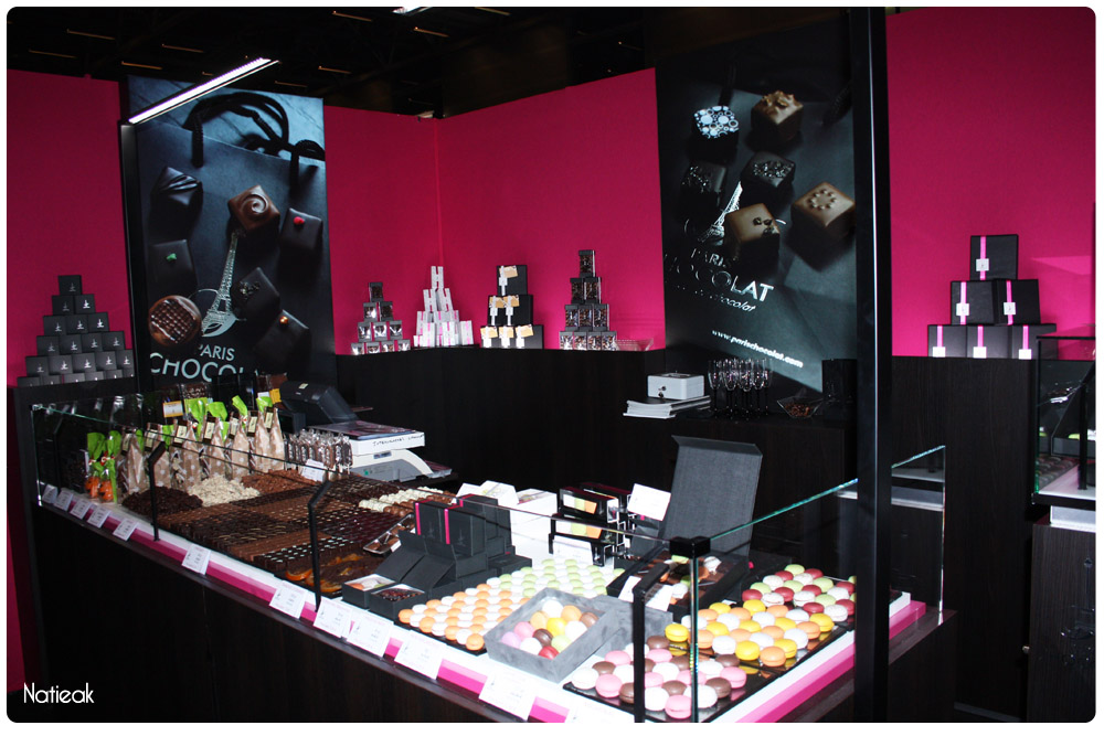 stand de Paris Chocolat au salon du chocolat 2016