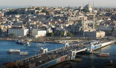 Tanduk Emas atau Golden Horn Istanbul Turki - berbagaireviews.com