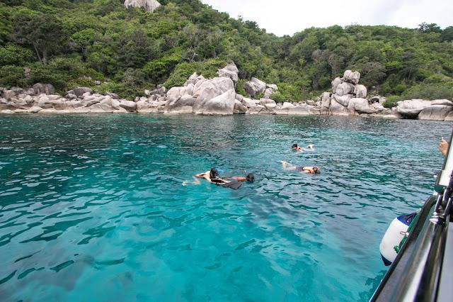 Snorkeling a Koh Tao