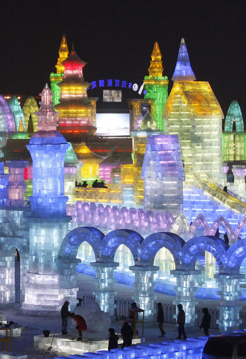 Harbin China ice sculptures 2013 randommusings.filminspector.com