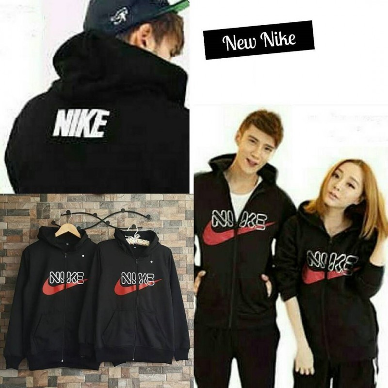 Jual Jacket Couple Jacket Nike Font - 24205