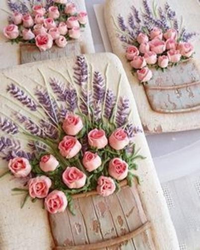 Rose & Lavender Cookies