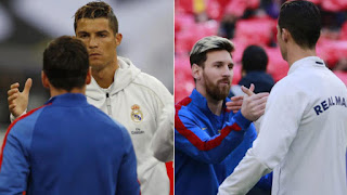 Messi and Ronaldo praise each other like never before