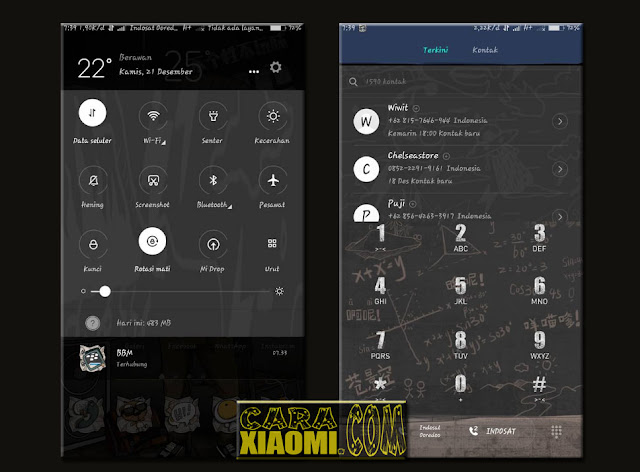 Screenshoot MIUI Theme Cool Boy Mtz For Xiaomi Update Terbaru