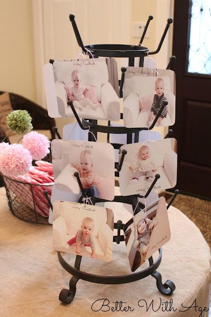 my baby girl's 1st birthday www.somuchbetterwithage.com