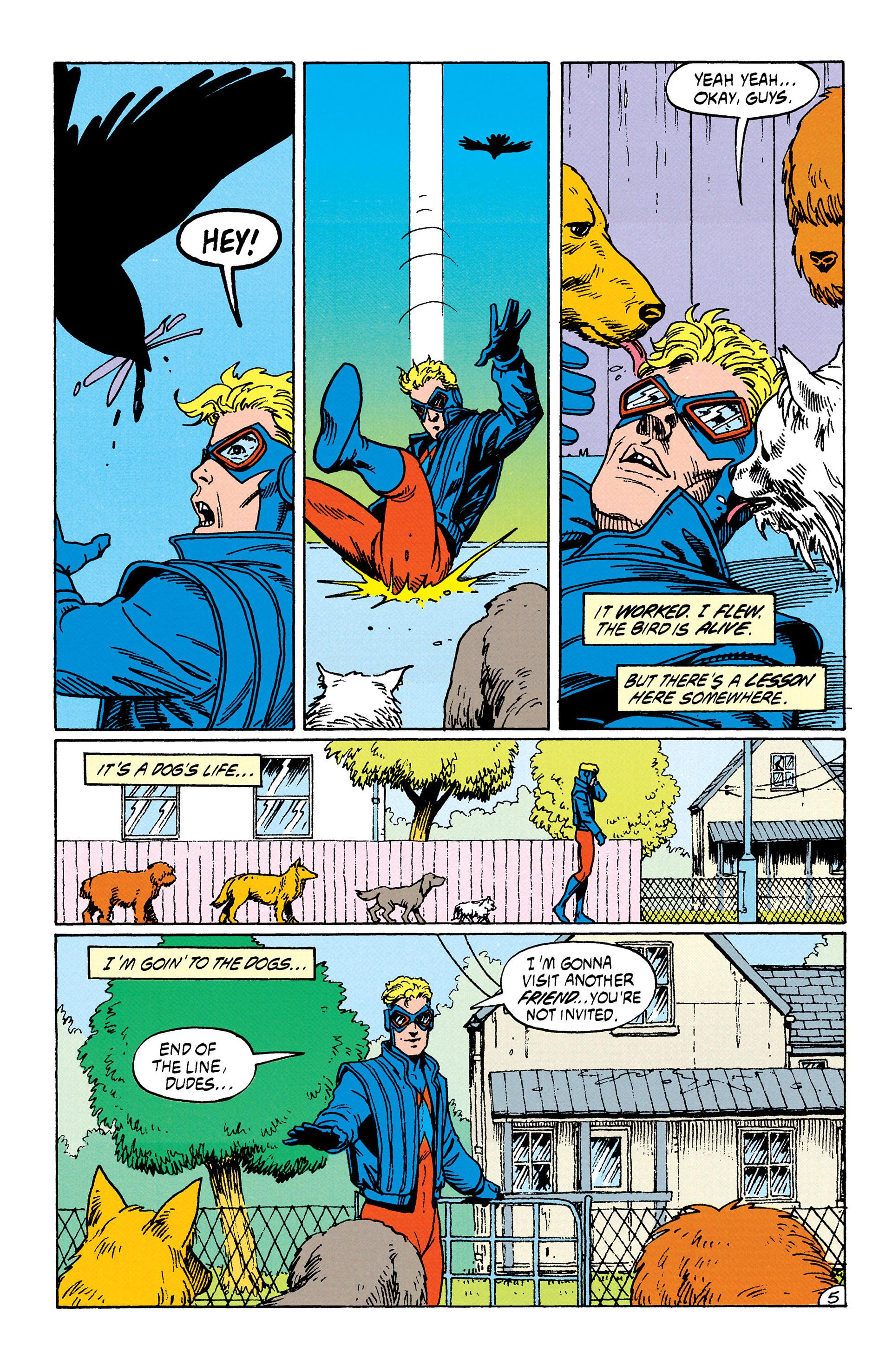 Read online Animal Man (1988) comic -  Issue #35 - 6