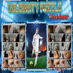 Beckham Jigsaw Puzzle Game