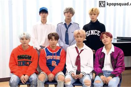 BTS Bagikan Pendapat dan Tujuan Mereka Setelah Masuk dalam Billboard Hot 100