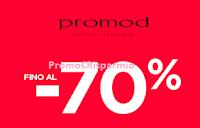 Logo Promod : saldi fino al - 70% sia in negozio che sullo Store online