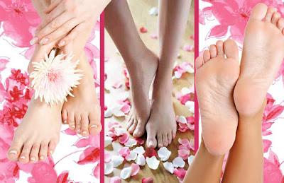 Pieds tout doux : Soin nutritif naturel pour les pieds secs