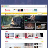 Trends Magazine Blogger Template