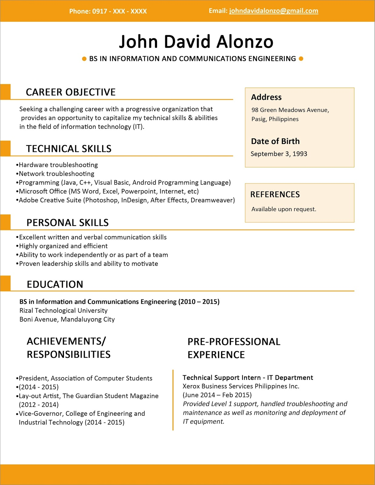 resume templates and resume building tools are you with me