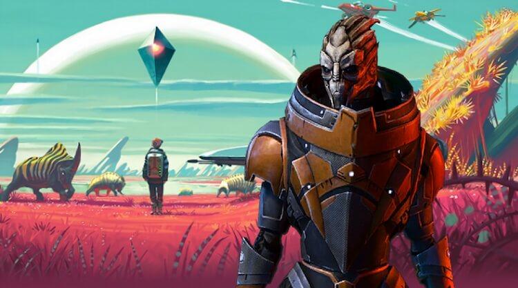 Mass Effect Andromeda casi alberga un sistema de mundos como No Man's Sky