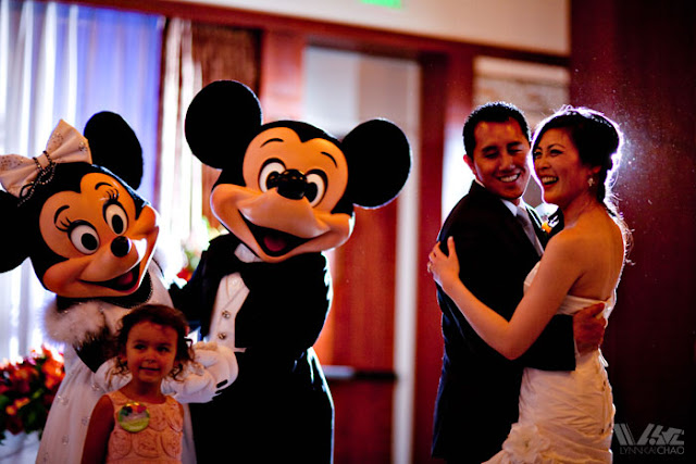 Disneyland Wedding Grand Californian Hotel Mickey and Minnie Trillium Room
