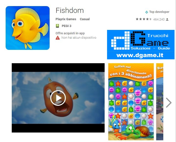 Soluzioni Fishdom di tutti i livelli | Walkthrough guide