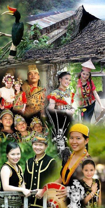 Suku Bangsa Di Brunei Darussalam : bangsa, brunei, darussalam, Perjuangan, Dayak, Zonanesia