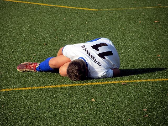 Las lesiones deportivas son dolorosas y difíciles de sanar