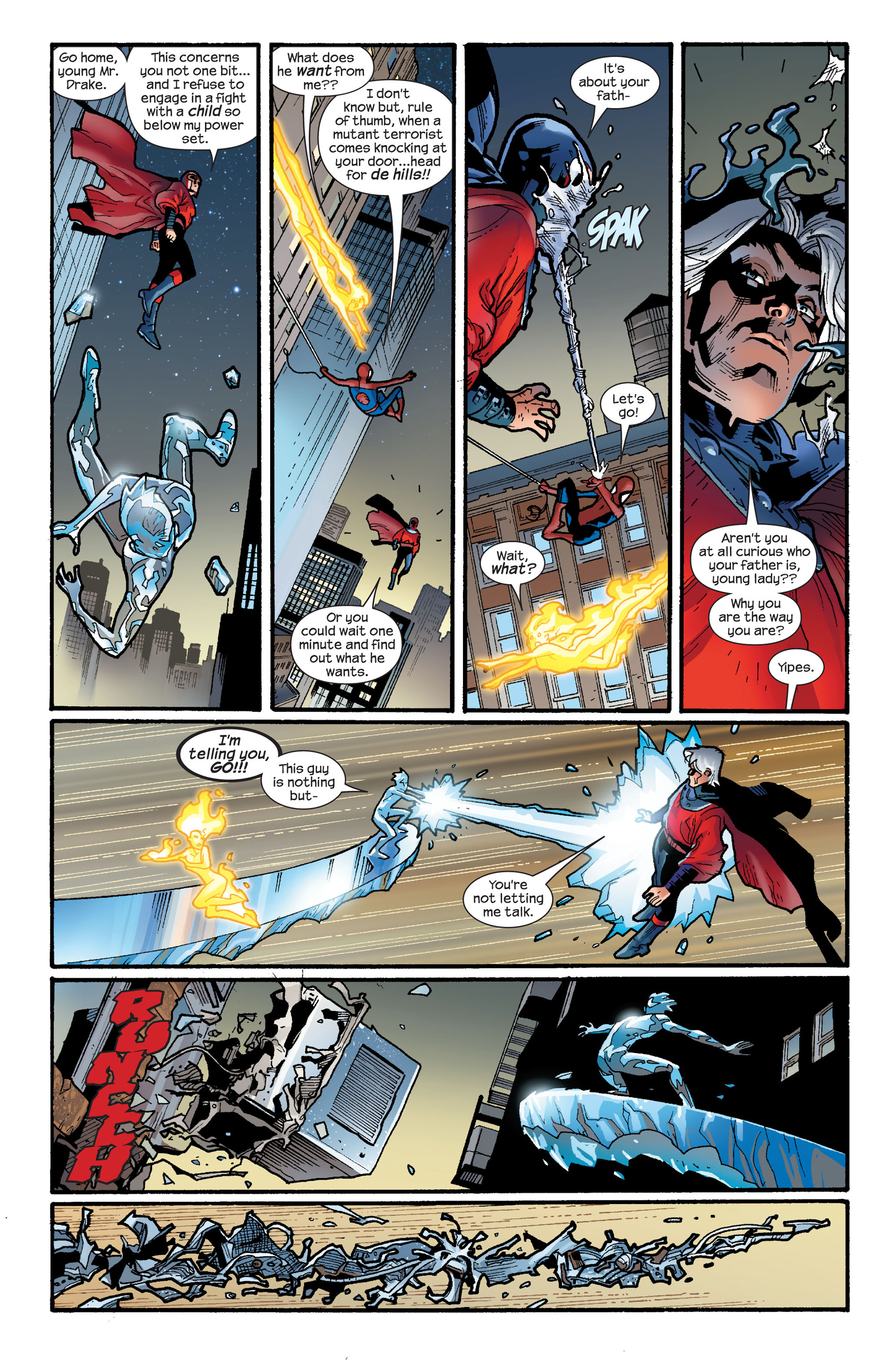 Read online Ultimate Spider-Man (2000) comic -  Issue #120 - 5