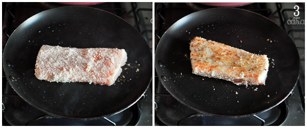 receita sashimi grelhado