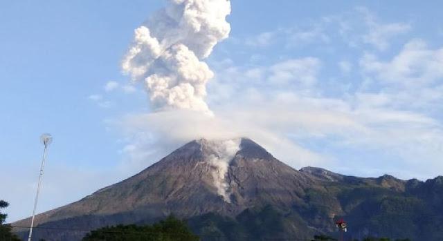 Warga Sekitar Gunung Merapi Diminta Waspada