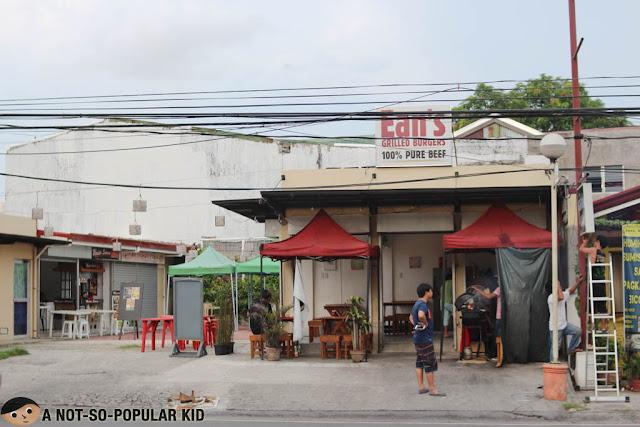 Ean's Grilled Burgers in Las Pinas