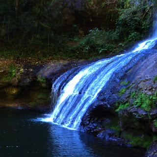 Águas Geladas da Cachoeira do Quatrilho, no Parque das 8 Cachoeiras, São Francisco de Paula